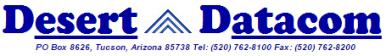 Desert Datacom Inc.