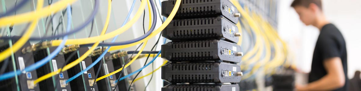 network data cable installation